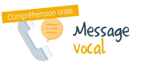 Comprendre un message vocal de l'école